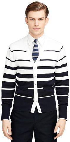 Varigated Stripe Cardigan