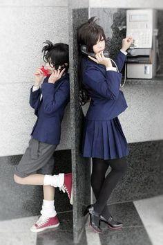 --Conan and Ran Mori cosplay--