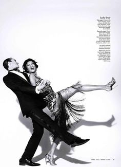 Marie Claire Magazine - Puttin' On the Ritz