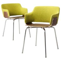 TOO By Blu Dot Hipper Dining Chair Guacamole - Set Of 2