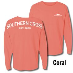 Southern Cross Spirit Jersey  Sizes S-2X just $49 at Hoopla Boutique. FREE SHIPPING when you mention this post prior to checkout. To order simply TEXT 205-514-8222 anytime 24/7.  Note color oprions may vary by size.