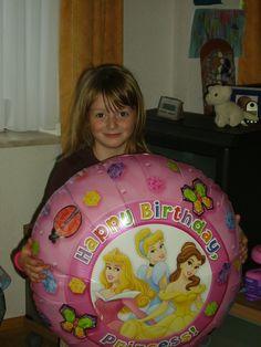 Ein Ballon für die Tochter
