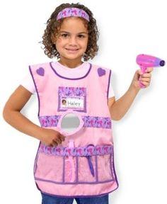 Melissa and Doug Kids Toy, Hair Stylist Costume Set - Multi