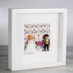 Ya vuelven a estar disponibles en nuestra e-shop los cuadros con la nueva parejita de novios de #playmobil !!  http://www.unabodaoriginal.es/es/cuadro-novios-playmobil.html #uboshop #unabodaoriginal #noviosplaymobil #regalosanvalentin #regalosboda #boda #bodas