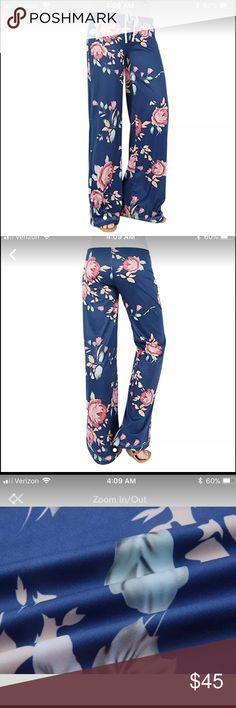 Beautiful floral lounge pants Super comfy floral lounge pants Pants