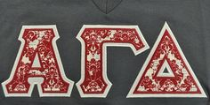 Sorority Greek Letters- Must Have