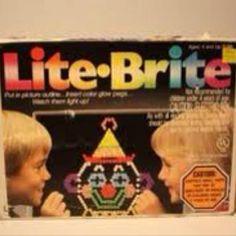 Lite • Brite -- my FAVORITE toy growing up!!