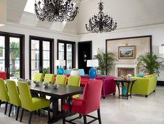 Florida Beachfront Residence - Vero Beach, USA - contemporary - hall - other metro - by John David Edison Interior Design Inc.