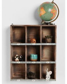 Display your treasures in this modular, numbered shelf. Buy it here: http://www.bhg.com/shop/urban-outfitters-exclusives-little-boxes-wall-organizer-p5018f59e82a797dc894be9d8.html