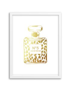 Our foil Perfume Bottle Print art print is the perfect addition to your home or office! Printed with gold or silver foil on your choice of premium cardstock paper. Sizes: 5″x7″ or 8.5″x11″ (this size will fit perfectly in a frame matted to 8″x10″) Paper Color Choices: white, kraft, black, navy, aqua, mint, hot pink, […]
