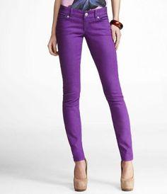 DENIM - Denim trousers Purple RcMhkrG