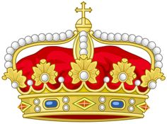 Heraldic Crown of Heir to the Throne of the Two Sicilies