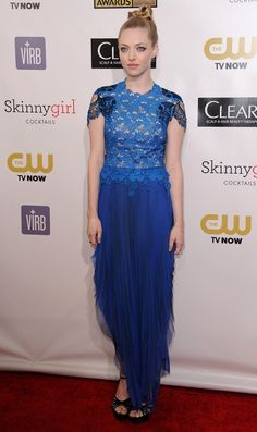 Amanda Seyfried Critics Choice Movie Awards 2013