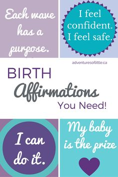 Birth Affirmations You Need