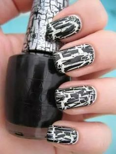Halloween is one of the best times of the year to experiment with hair, makeup, and style choices you wouldn't usually make. Likewise for nails. These Halloween nail designs are fun, easy to re-create, and a bit morbid—the perfect combination for topping off your costume or just stepping out of your nail-art shell. Take a look at these simple but spooky nail designs from some of our favorite bloggers.