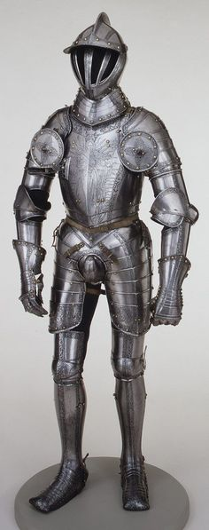 Armour of Emperor Ferdinand I, 1549 Made by Kunz Lochner (ca. 1510–1567) German (Nuremberg)