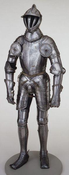 Armour of Emperor Ferdinand I, 1549 Made by Kunz Lochner (ca. 1510–1567) German (Nuremberg)