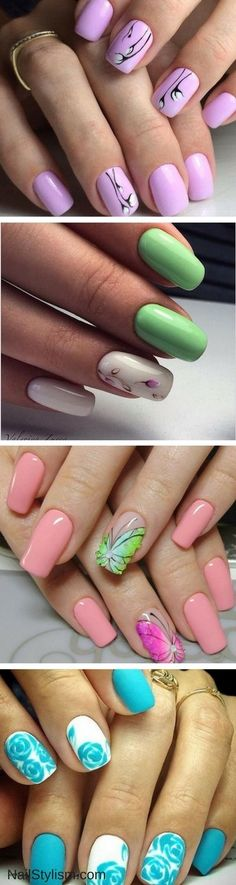 Spring Nail Art Ideas You Need To Try Now #slimmingbodyshapers  The key to positive body image go to slimmingbodyshapers.com  for plus size shapewear and bras