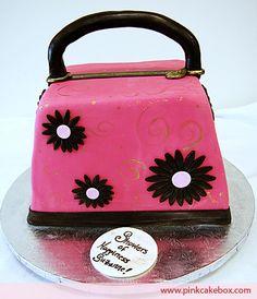 Bridal Shower Pocketbook Cake