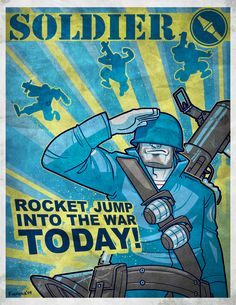 Team Fortress 2 Propaganda by ~splashed-ink on deviantART