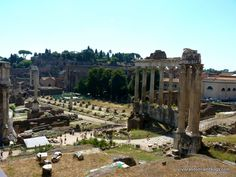 Best Places to see in the Eternal City of Rome, Italy  - Roman Forum