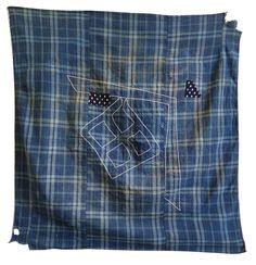 Sri | A Fantastic Boro Furoshiki: Sashiko Stitched and Hand Loomed Cotton