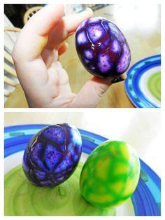 Dinosaur easter eggs!