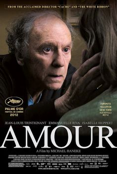 Amour... Can't wait to see this movie next weekend!