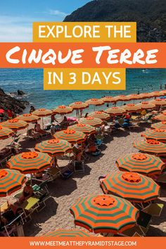 The Cinque Terre should be at the top of every Italian travel bucket-list. Hiking, swimming, excellent food and drinks, in one of the most beautiful settings on the planet, this is one destination not to miss.  #cinqueterre #cinqueterreitaly #italytravel #italyvacation #cinqueterreitaly #cinqueterrethingstodo #summerholiday Italy Travel Tips, Europe Travel Guide, Travel Guides, Backpacking Europe, Best Places To Travel, Cool Places To Visit, Italy Destinations, Things To Do In Italy, Cinque Terre Italy