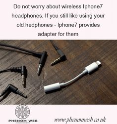 Do not worry about wireless Iphone7 headphones. If you still like using your old hedphones - Iphone7 provides adapter for them - https://www.phenomweb.co.uk/do-not-worry-about-wireless-iphone7-headphones-if-you-still-like-using-your-old-hedphones-iphone7-provides-adapter-for-them/ - #happy #science #technology #essentials #entrepreneur #startup #innovation #digital #values #businessmodel #futurewe #design #business #developer #new #products #brandnew #web #webdesign #webdev #