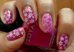 Fancy Schmancy Nails: Zoya Girly Girl Mani!!
