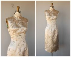 1950er Jahre wackeln Kleid 50er Jahre von CustardHeartVintage