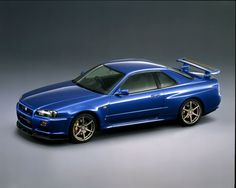 1999 Nissan Skyline GT-R — The final version of the classic, GT-Rs. A car worth risking prison to import — which some. Nissan Skyline Gt R, Nissan Gtr Skyline, Skyline R33, Nissan R34, Camaro Car, Japan Cars, Car Wheels, Retro Cars, Dream Cars