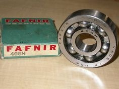 30mm FAFNIR 406H Single Row Deep Groove Ball Bearing