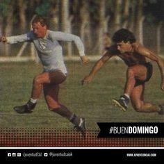 #BuenDiaRojo! #BuenDomingo! 😈 Trossero y Merlini entrenando. Año 1984.