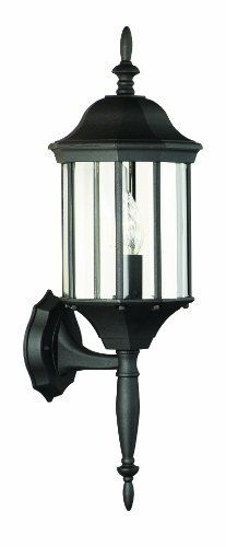 Thomas Lighting Sl9461-7 Hawthorne One-Light Outdoor Wall Lantern, Matte Black by Thomas Lighting. $19.99. From the Manufacturer                Thomas Lighting established in 1919 is known for it's style and quality, the Hawthorne Collection offers a wide variety of sizes in this die-cast aluminum exterior fixture with it's matte black finish.                                    Product Description                SL94617 Features: -Die-cast aluminum.-Clear beveled glass panels.-He...