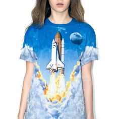 Shuttle Tee / Need this, since hubby worked on the Shuttle project!