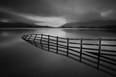 Crooked Fence by Stephen Wiggett, via 500px