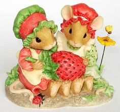 strawberry cherished teddies | Bilder: