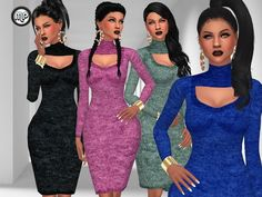 Sims 4 CC's - The Best: Special Date Dress by MartyP
