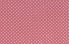 Printed Cotton 3mm Spots Pale Pink