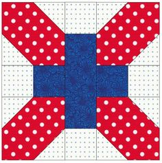 Jen modifies an antique quilt block to become a square which is used in a large double/queen size quilt. Make this pattern with fat quarters. Quilting Tutorials, Quilting Projects, Quilting Designs, Quilting Ideas, Quilt Blocks Easy, Big Block Quilts, Quilt Block Patterns, Pattern Blocks, Pattern Sewing