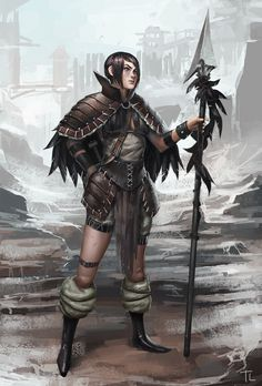Barbarian Chick  by ~timmi-o-tool http://timmi-o-tool.deviantart.com/art/Barbarian-Chick-357656655