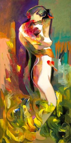 Hessam Abrishami is an internationally acclaimed artist. His paintings and fine art prints are regularly presented in special shows around the United States & beyond. Figure Painting, Painting & Drawing, Romance Art, Hippie Art, Arte Pop, Portrait Art, Erotic Art, Indian Art, Belle Photo