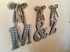 A personal favorite from my Etsy shop https://www.etsy.com/listing/251555357/shotgun-shell-letter