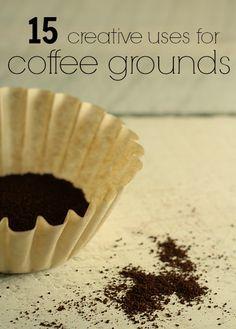 Ways to Use Coffee Grounds | The Prairie Homestead