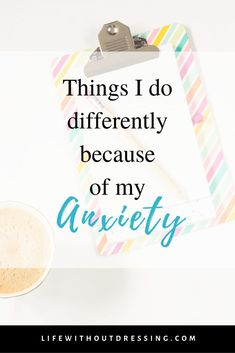 Although I have found releif, my anxiety is never fully gone. I have quirks - things I still do differently because of my anxiety. How To Control Anxiety, Do I Have Anxiety, Anxiety Help, Social Anxiety, Stress And Anxiety, Controlling Anxiety, Anxiety Tips, Anxiety Panic Attacks