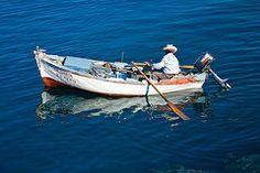 mediterranean fisher's boat