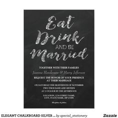 616 Best Wedding Eat Drink Be Married Invitations Images On