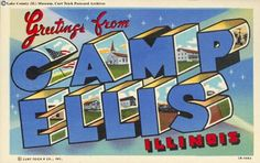 Illinois History: Camp Ellis ~ World War II Prisoner of War Camp ~ Located between Ipava and Bernadotte Illinois